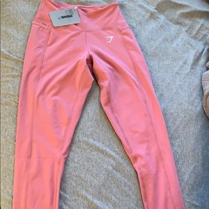 Gymshark dreamy leggings (pink) size xs